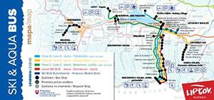 interaktívna mapa Liptova
